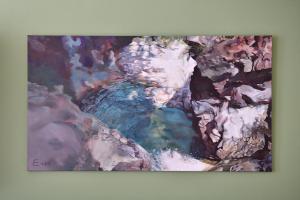 Acrylic, 2020 180 x 100 cm