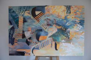 [sold]Acrylic, 2020 80 x 120 cm