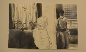 Ink and aquarel