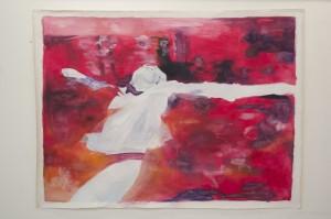Ophelia IIAcryl, 2016200 x 150 cm