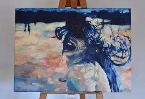 [sold]PowervrouwAcrylic, 2020 70 x 50 cm