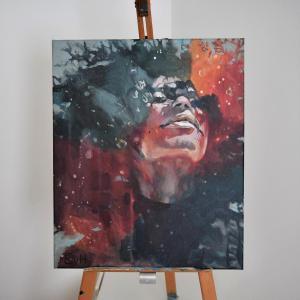 Powervrouw IIAcrylic, 2020 54 x 65 cm