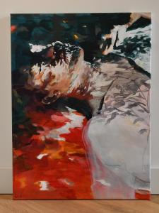 Ingekleurd,Acrylic, 202160 x 80 cm